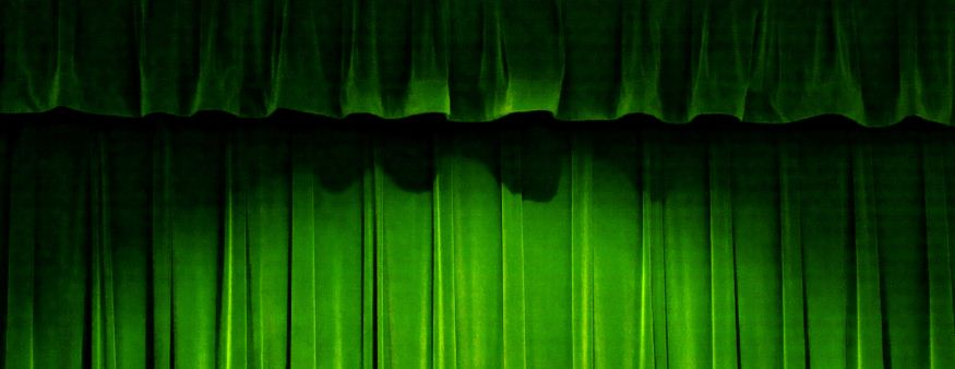Green curtain- short