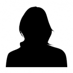 female silhouette head